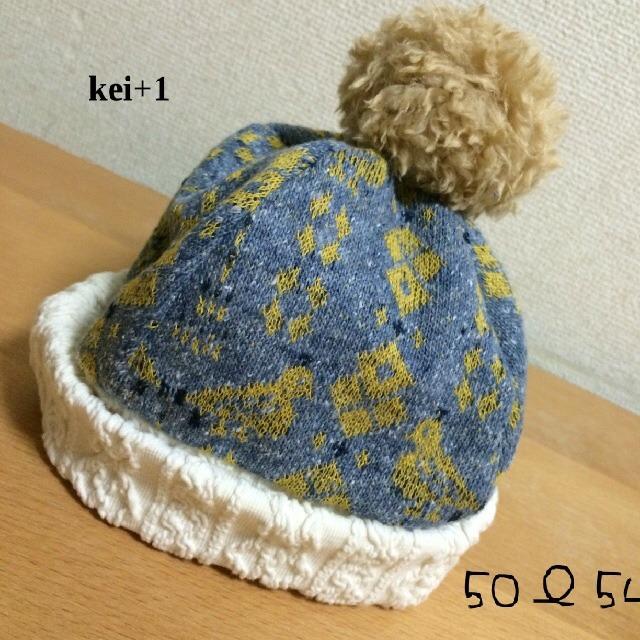 ぽんぽんニット帽とりさん◇ 46〜50