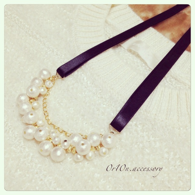 range pearl necklace.