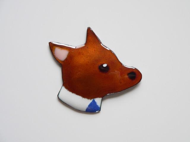 七宝焼・新社会人の犬