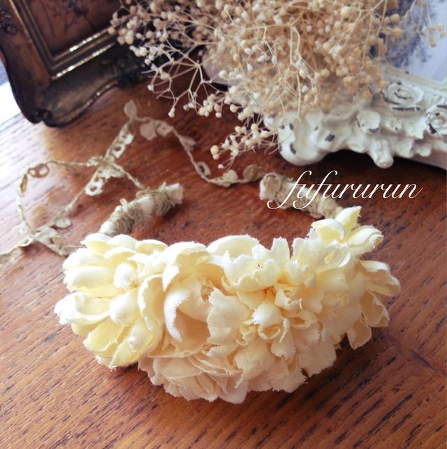 布花のバングル