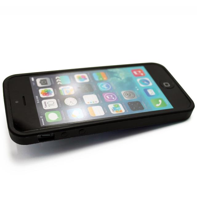 2b06c19d3b iphone5/iphone5s用/iphoneSE 軽量レザーケースiphone5カバー(ブルーストライプ×ブラック