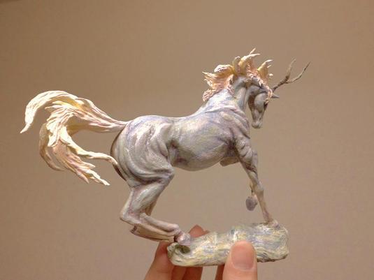 角を持つ馬 | ハンドメイドマー...