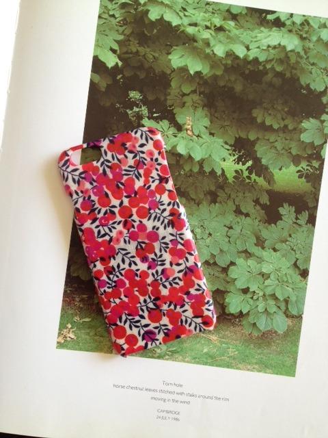 リバティ iphone6 6Sケース(ウィルトシャーピンク)