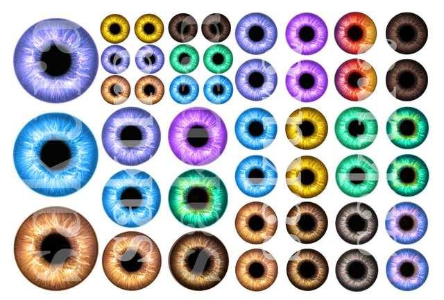 レジン封入用シート :Doll Eyes=2=