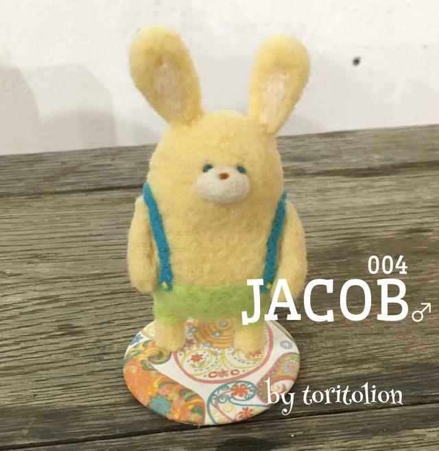 もふもふドール (羊毛うさぎ) JACOB ♂...