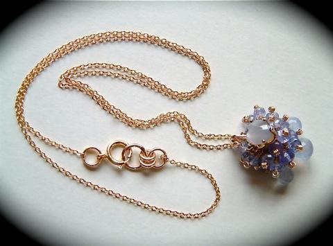 『 STYLE/J〜RIN (凛)』 pendant by K14GF