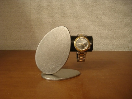 誕生日プレゼントに!ブラックかわいいダブルエッグ腕時計スタンド