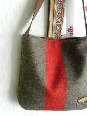 スイスブランケット ショルダーbag