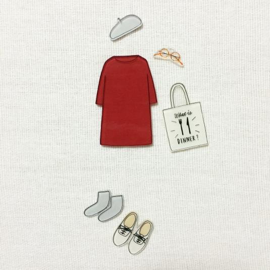 coordinate brooch / set��