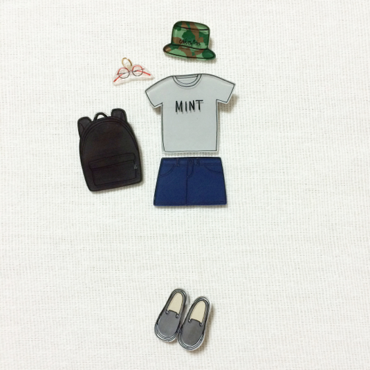 coordinate brooch / set��