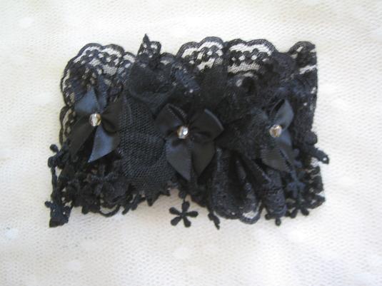 黒のバレッタ