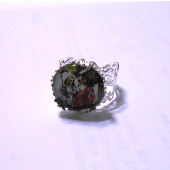 不思議の国のアリスのリング指輪-2