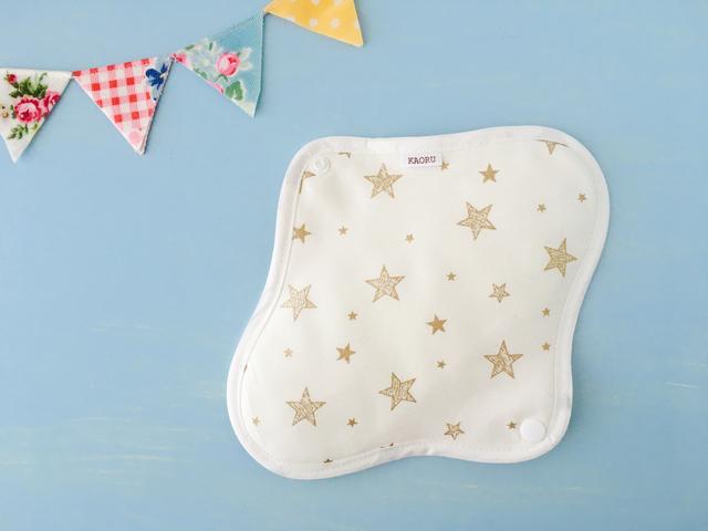 可愛い布ナプキン『star』昼用Mサイズ