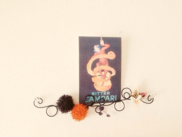 クルクルワイヤー壁飾り ハロウィン