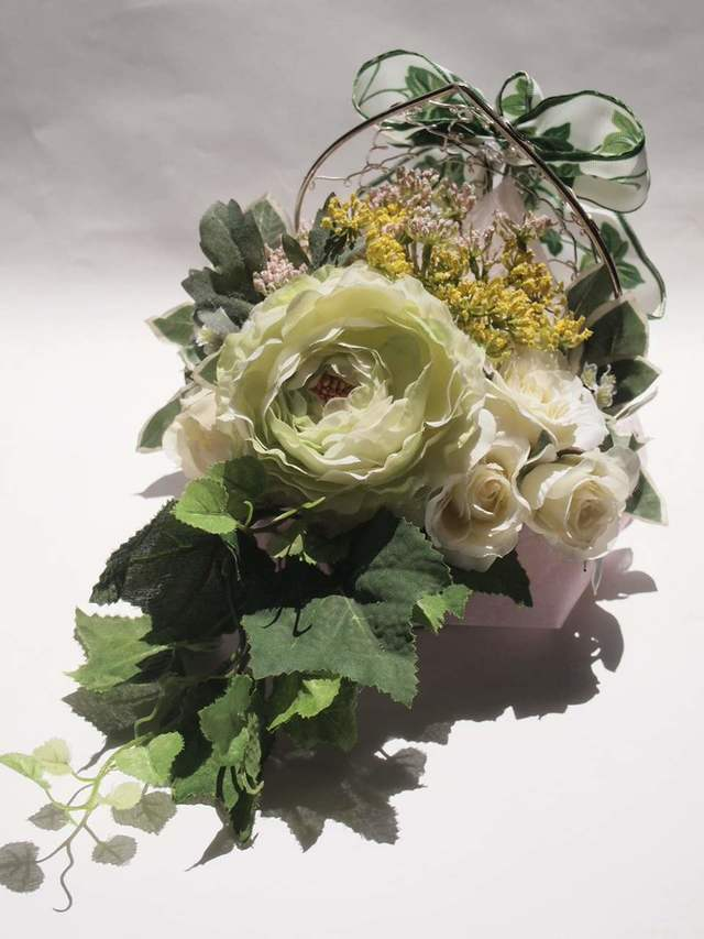 sawa-ya ~ ハート型花器が可愛いグリー...