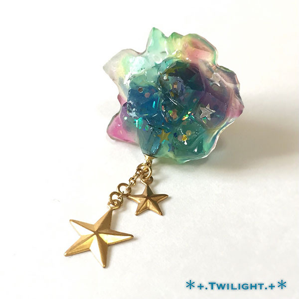 「*+.Space jewelry+*」ピンブローチver02