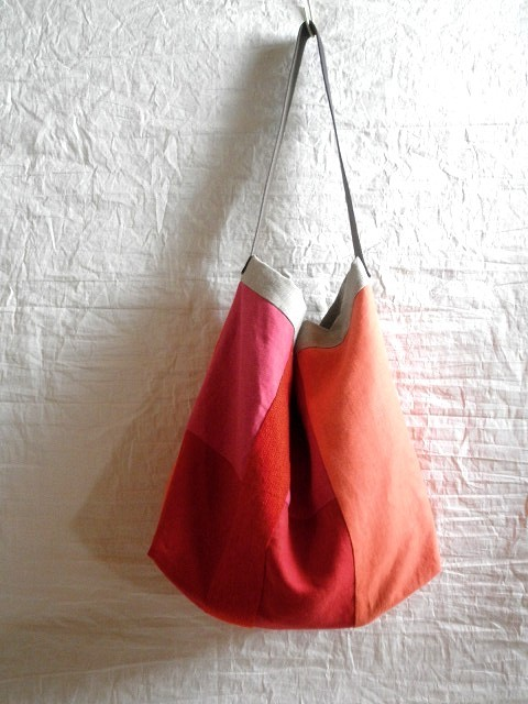 itoiro bag (red&orange)