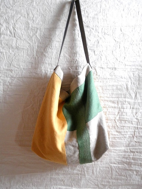 itoiro bag (green&yellow)