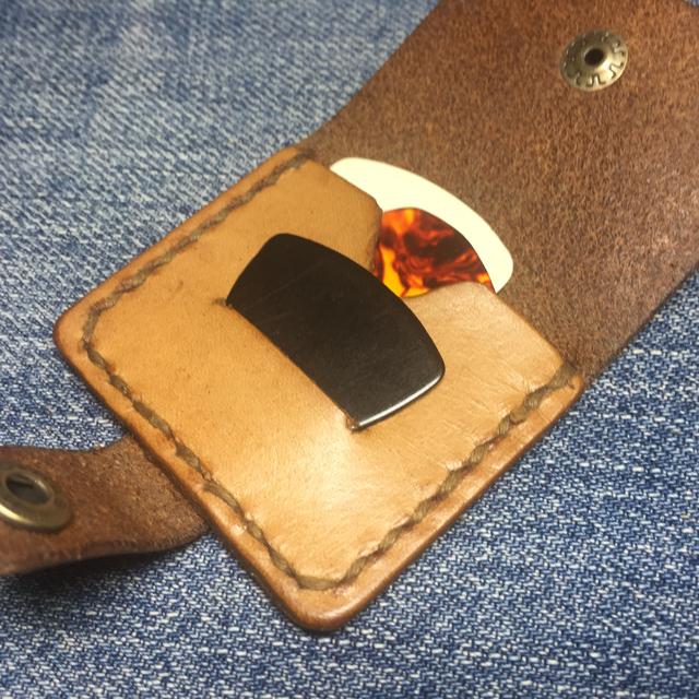 ピックケース(革手縫い)