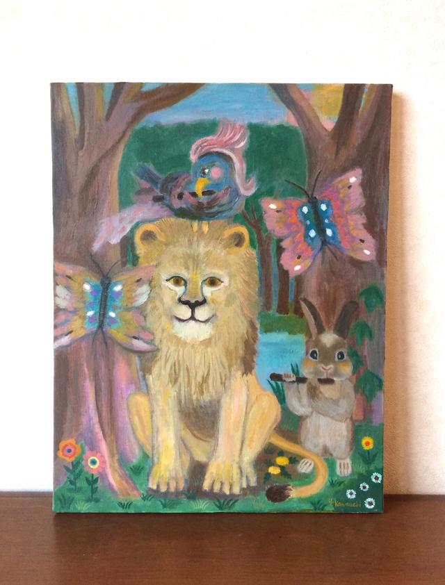 笛の響く森、動物たち