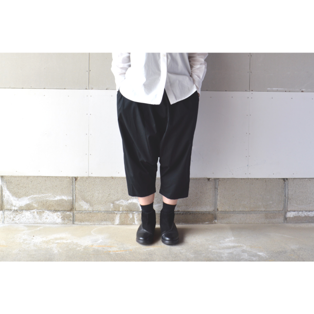 SARROUEL PANTS BLACK【M~L】(COTTON B...