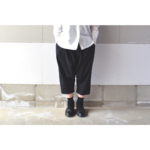 SARROUEL PANTS BLACK【M~L】(COTTON BROAD)