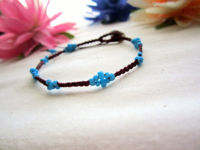 Thin W.Linen Bracelet. ~wb~