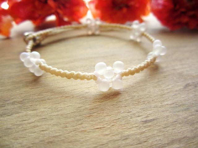 W.Linen Bracelet.~tde~