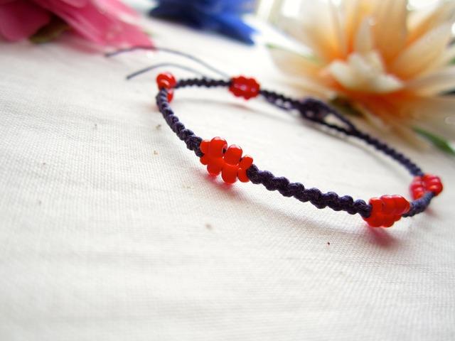 W.Linen Bracelet.~wh~