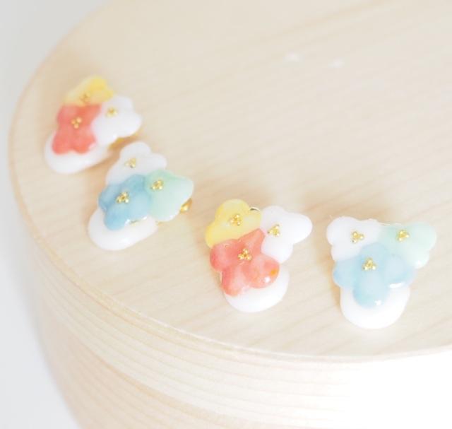 新色tres floresお花のイヤーカフ【オ...