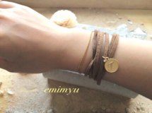 Leather Cord Wrap Bracelet