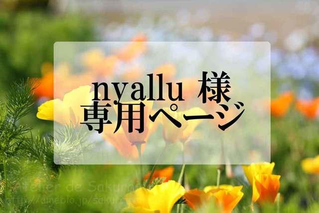 nyallu 様 専用ページ