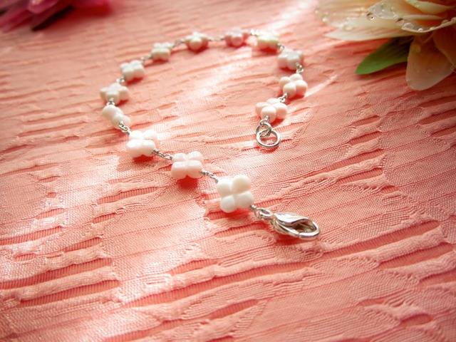 Queen Conch-Shell Bracelet. ~Silver~