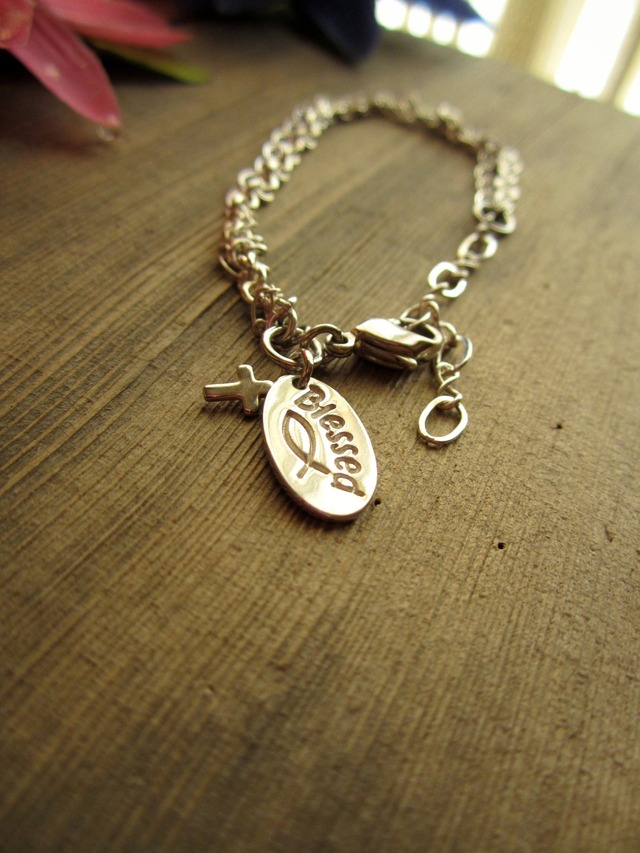 Christian Fish Bracelet.