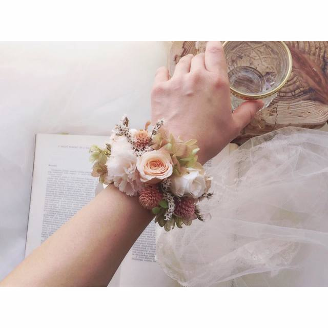 bride * wrist bouquet  #107 〔リスト...