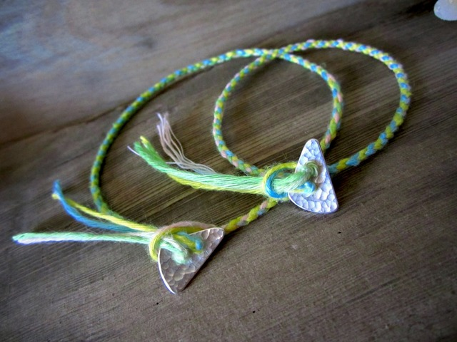 Thin Color Hemp Anklet & Bracelet./IL