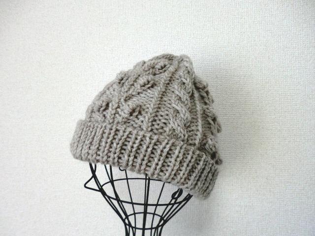 ぽこぽこポップルの帽子