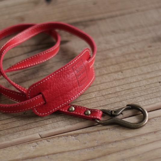 Osanpo Neck Strap / Red