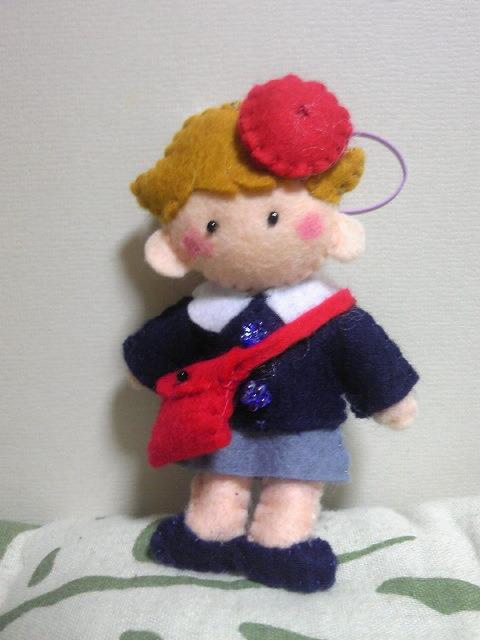 4月から幼稚園♪(友梨ちゃん)