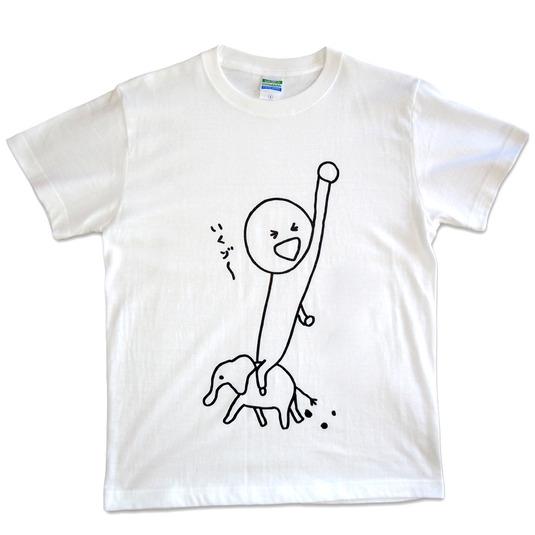 いくゾ〜Tシャツ【Mサイズ】