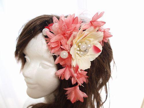 ピンクの髪飾り*和飾り*七五三*成人式