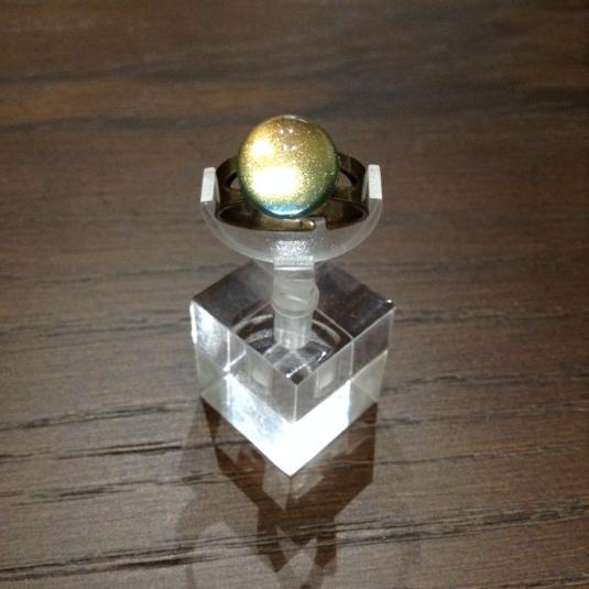 魔術師見習いのプチ半球ピンキーリング-東雲-