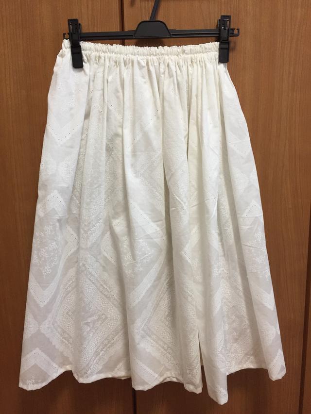 【限定1】レース柄のスカート