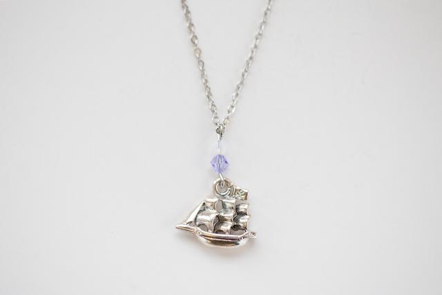 海賊船ネックレス