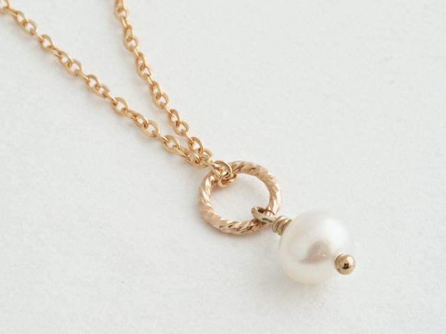 14KGF Petit Charm Necklace WH
