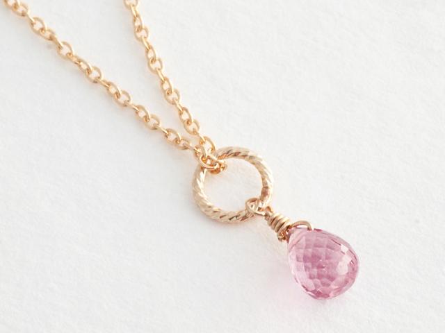 14KGF Petit Charm Necklace PK