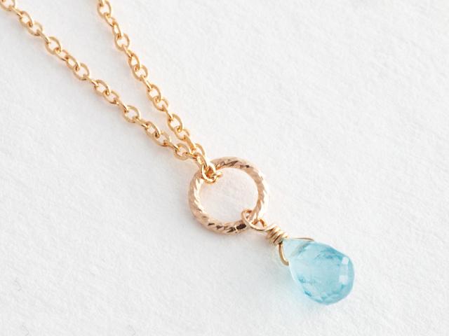 14KGF Petit Charm Necklace BL