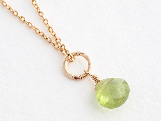 14KGF Petit Charm Necklace GR