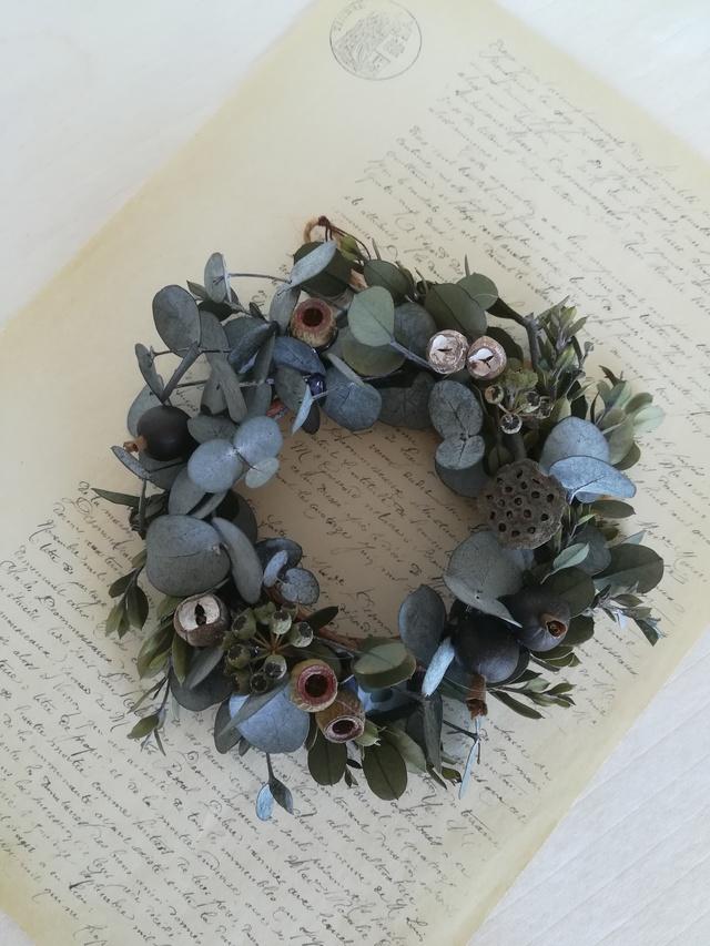 さりげないmini wreath { ユーカリ}