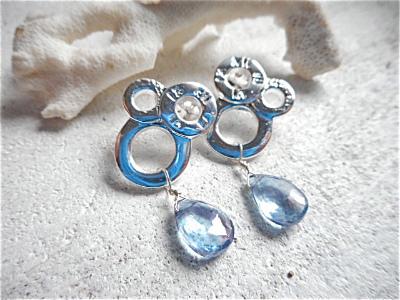 Lifebuoy& Bubbles with mystic blue quartz